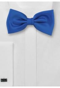 Fliege einfarbig royalblau