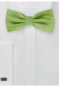 Herrenfliege uni strukturiert waldgrün