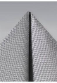 Ziertuch Struktur silber