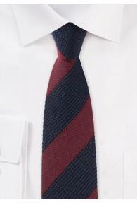 Krawatte traditionsreiches Streifenmuster
