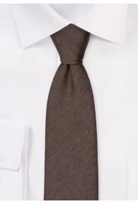 Krawatte monochrom melierte Struktur...