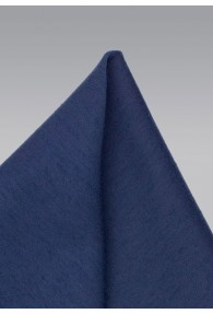 Kavaliertuch melierte Struktur marineblau
