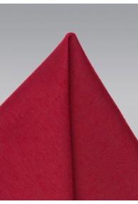Einstecktuch melierte Struktur rot