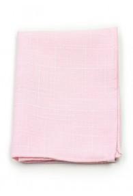 Kavaliertuch Baumwolle meliert rosa