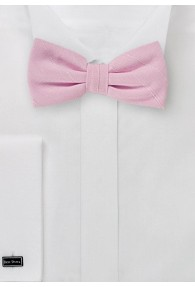 Herren-Schleife marmoriert Linienkaro rosa