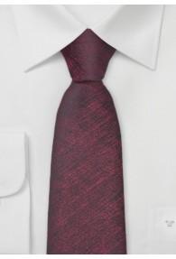 Krawatte weinrot marmoriert