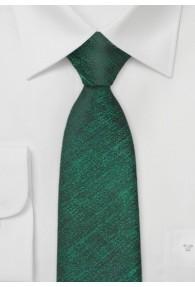 Krawatte tannengrün gesprenkelt