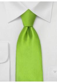 Kinder-Krawatte helles frisches Grün