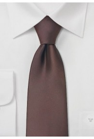 Kinder-Krawatte in mocca
