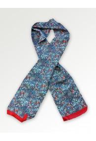 Krawattenschal rot Paisleymuster