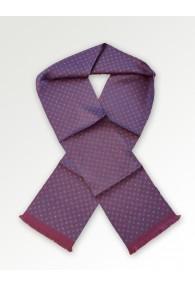 Krawattenschal Ornamente bordeauxrot
