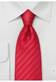 XXL Krawatte rot
