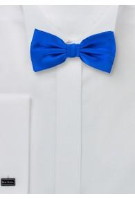 Fliege elegante Seide royalblau