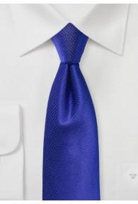Krawatte Struktur uni königsblau