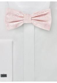 Schleife stylisches Paisley blassrosa