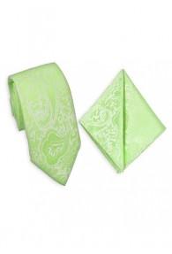 Zusammenstellung Krawatte und Einstecktuch...