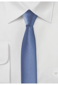 Extra schmale Krawatte blassblau