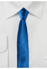 Extra schlanke Krawatte ultramarin