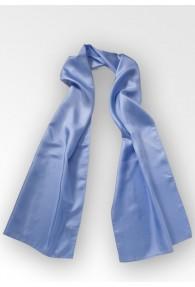 Damenschal Seide eisblau