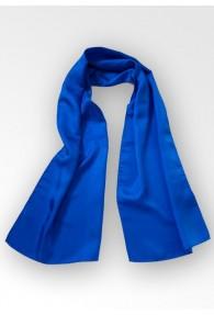 Damenschal Seide blau