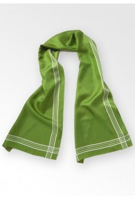 Tuchschal Streifendessin waldgrün