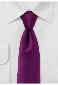 Stylische Krawatte monochrom violett