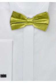Herrenschleife Seide unifarben grün