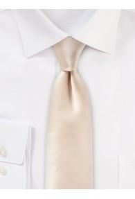 Seiden-Krawatte modischer Glanz altweiß