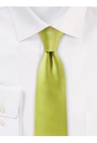 Seiden-Krawatte raffinierter Satinschimmer grün
