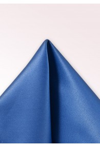 Ziertuch Satinglanz royalblau