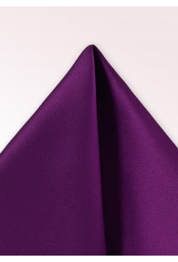 Einstecktuch Satinschimmer violett