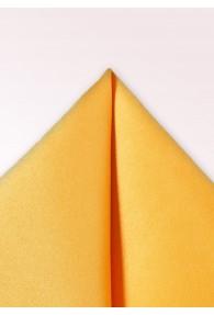 Einstecktuch Glanz gelb