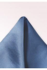 Herren-Einstecktuch Seide einfarbig hellblau