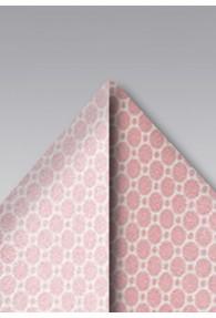 Kavaliertuch Waben-Struktur rosa