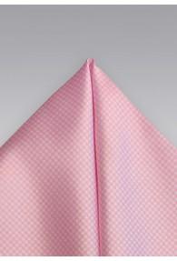 Ziertuch Karo-Struktur rose