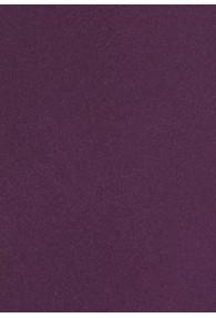 Kravatte italienische Seide aubergine einfarbig