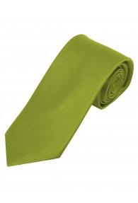 Krawatte einfarbig edelgrün