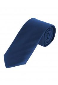 XXL-Herrenkrawatte Linien-Oberfläche royalblau