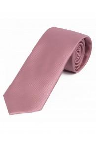 XXL-Krawatte einfarbig altrosé