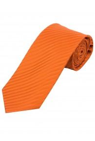 XXL-Businesskrawatte Streifen-Struktur orange
