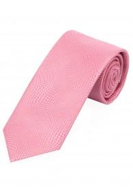 XXL-Krawatte Struktur-Muster rose