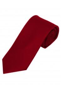 Schmale Krawatte einfarbig dunkelrot