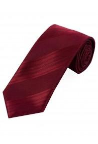 Krawatte schmal einfarbig Streifen-Oberfläche...