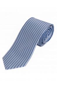 Krawatte schlank vertikale Streifen himmelblau...