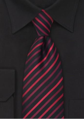 Kinder-Krawatte rote Streifen
