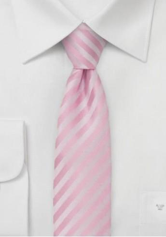 Granada  schmale Krawatte in blush