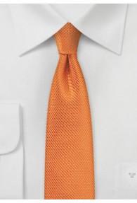 Schmale Krawatte Struktur kupfer