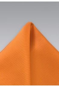 Einstecktuch Seide orange