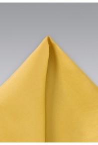 Einstecktuch Seide gelb