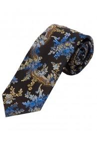 Modische Krawatte Rankenmuster farbenfroh